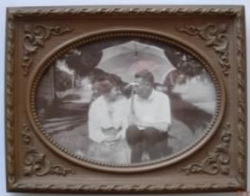 Lyle Carringer and Emily Auble - about 1918