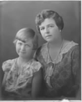 Betty Carringer and Emily (Auble) Carringer - 1930