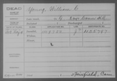 Company G > Young, William C.