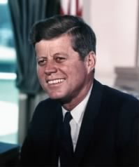 The 35th President of the United States of America.