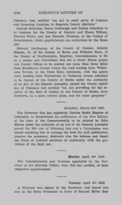 Executive Minutes of Governor Simon Snyder 1808-1812 > Page 2846