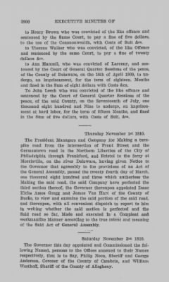 Executive Minutes of Governor Simon Snyder 1808-1812 > Page 2900