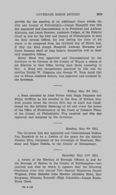 Executive Minutes of Governor Simon Snyder 1808-1812 > Page 2979