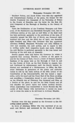 Executive Minutes of Governor Simon Snyder 1808-1812 > Page 3075