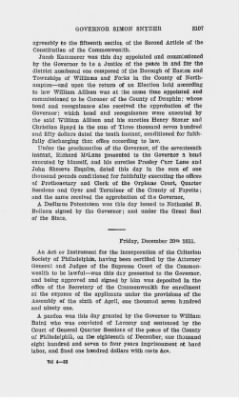 Executive Minutes of Governor Simon Snyder 1808-1812 > Page 3107