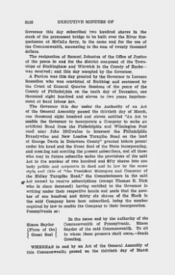Executive Minutes of Governor Simon Snyder 1808-1812 > Page 3110