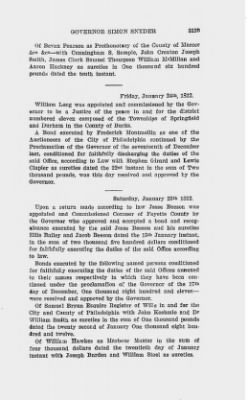 Executive Minutes of Governor Simon Snyder 1808-1812 > Page 3125