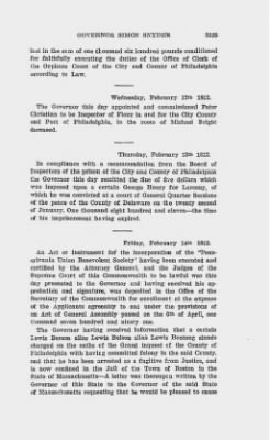 Executive Minutes of Governor Simon Snyder 1808-1812 > Page 3135