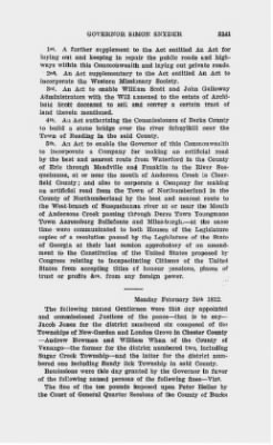 Executive Minutes of Governor Simon Snyder 1808-1812 > Page 3141