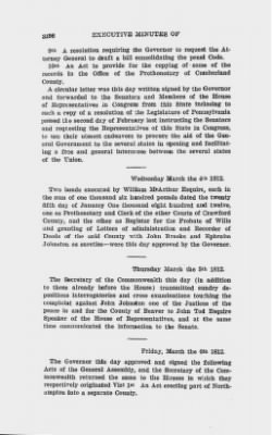 Executive Minutes of Governor Simon Snyder 1808-1812 > Page 3156
