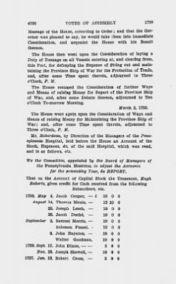 Votes of Assembly 1758 > Page 4736