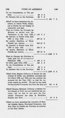 Votes of Assembly 1763 > Page 5467