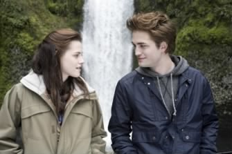 Bella and Edward at Water Fall