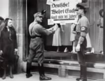 SA and SS Men Post Anti-Jewish Shopping Signs.jpg