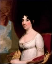 This is a portrait of Dolley Madison.