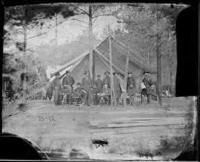 B-12 General Ulysses S. Grant and Staff of Twelve...