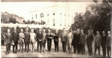 1926 Presentation of the President's Cup