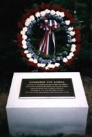 The Rohna Memorial in Fort Mitchell National Cemetery