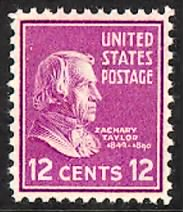 StampZachary Taylor .gif