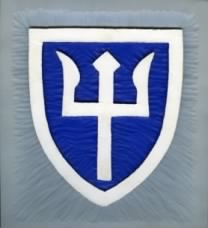 WWII - 97th Division - Hand-Carved by Bob Wilmer