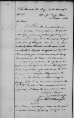 Foreign Ltrs of Robert R Livingston > Page 240