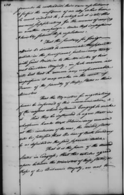 Foreign Ltrs of Robert R Livingston > Page 258