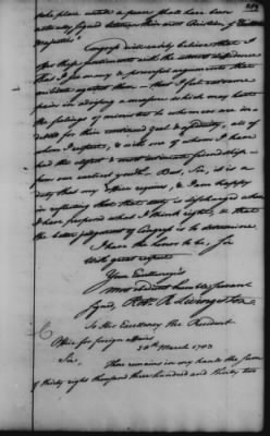 Foreign Ltrs of Robert R Livingston > Page 259