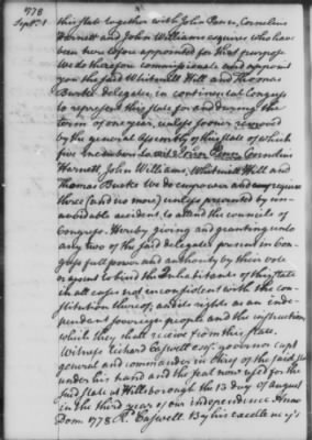 Aug 25 - Oct 13, 1778 (Vol 18) > Page 20