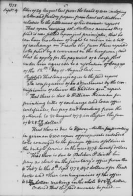 Aug 25 - Oct 13, 1778 (Vol 18) > Page 58