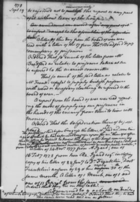Aug 25 - Oct 13, 1778 (Vol 18) > Page 98