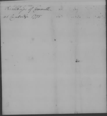 Repts from Cambridge and Valley Forge > Page 51b