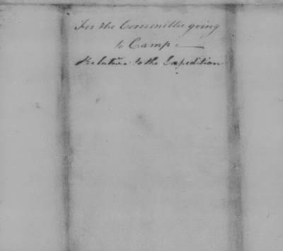 Repts from Cambridge and Valley Forge > Page 83b