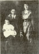 Frank, Myrtle and son Frank Pitts, Jr.