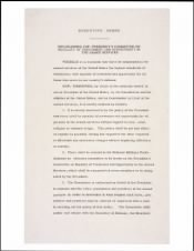 1948 - Desegregation of Military - Page 1