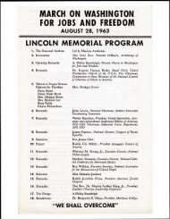 1963 - March on Washington - Page 1