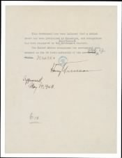 1948 - Recognition of Israel - Page 1