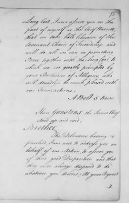 Records Relating to Indian Affairs, 1765-89 > Page 15