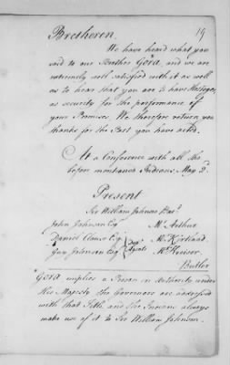 Records Relating to Indian Affairs, 1765-89 > Page 19