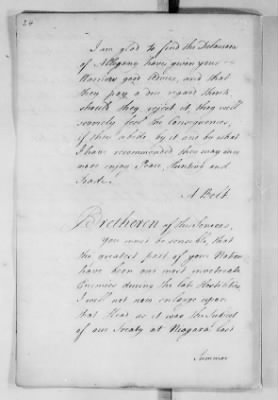 Records Relating to Indian Affairs, 1765-89 > Page 24