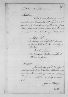 Records Relating to Indian Affairs, 1765-89 > Page 37