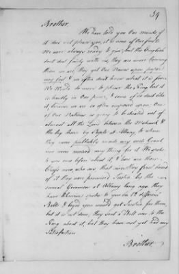 Records Relating to Indian Affairs, 1765-89 > Page 39