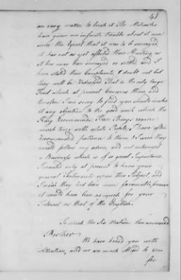 Records Relating to Indian Affairs, 1765-89 > Page 43