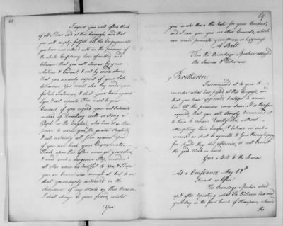 Records Relating to Indian Affairs, 1765-89 > Page 68