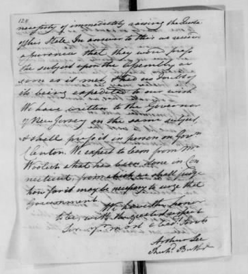 Records Relating to Indian Affairs, 1765-89 > Page 128