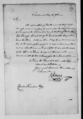 Records Relating to Indian Affairs, 1765-89 > Page 177