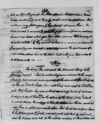 Records Relating to Indian Affairs, 1765-89 > Page 245