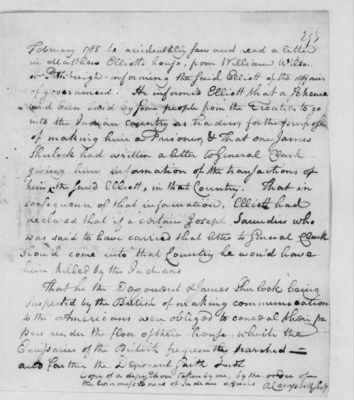 Records Relating to Indian Affairs, 1765-89 > Page 293