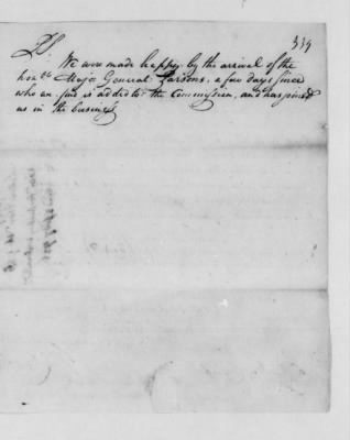 Records Relating to Indian Affairs, 1765-89 > Page 339