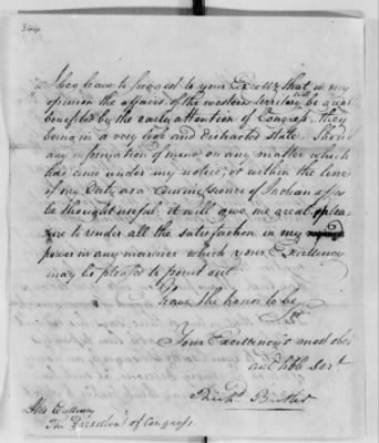 Records Relating to Indian Affairs, 1765-89 > Page 344