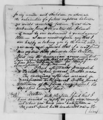 Records Relating to Indian Affairs, 1765-89 > Page 346